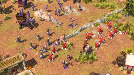 Battle - Muskets vs. India.