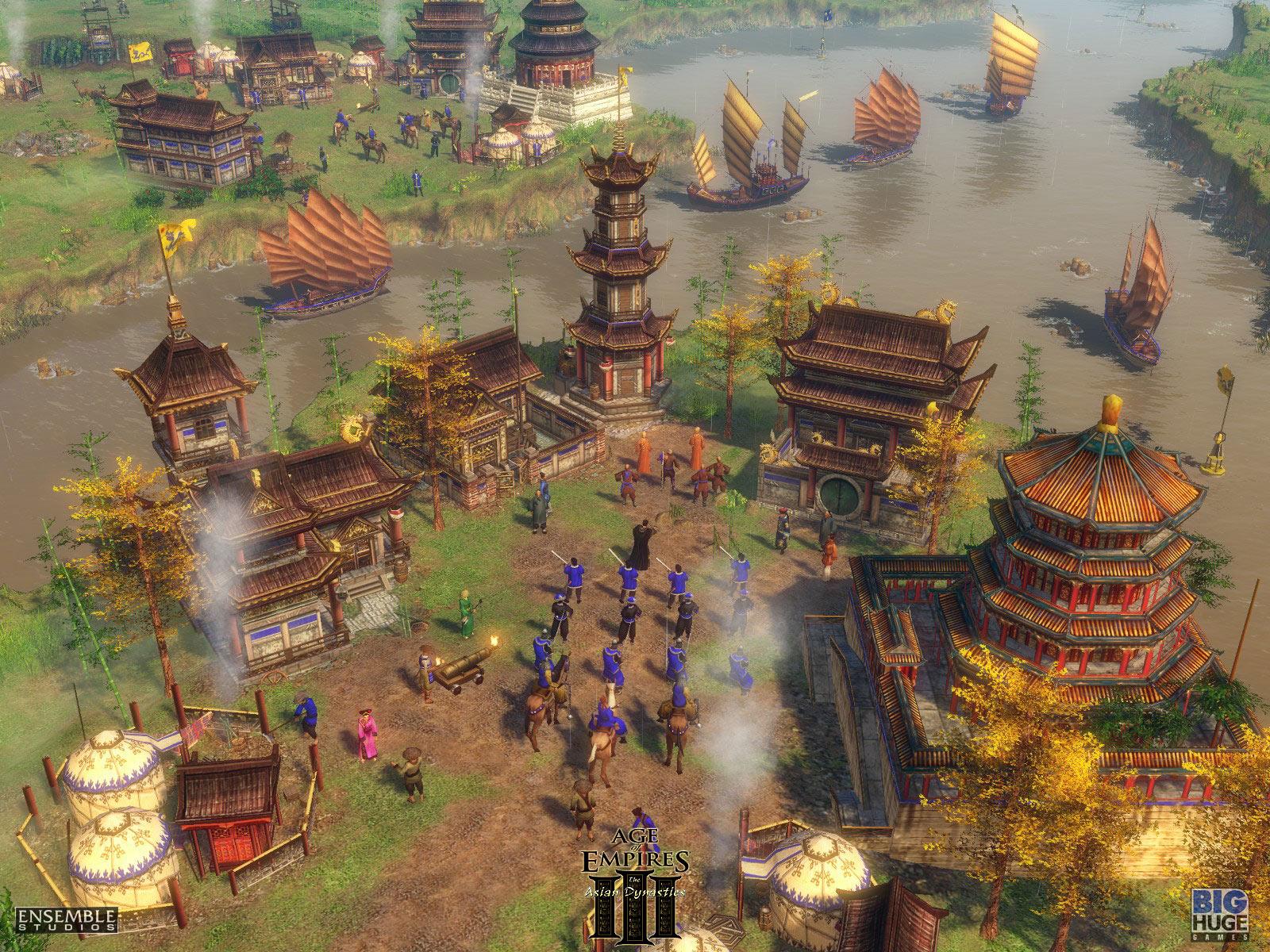 Aoe 3 the asian dynasties