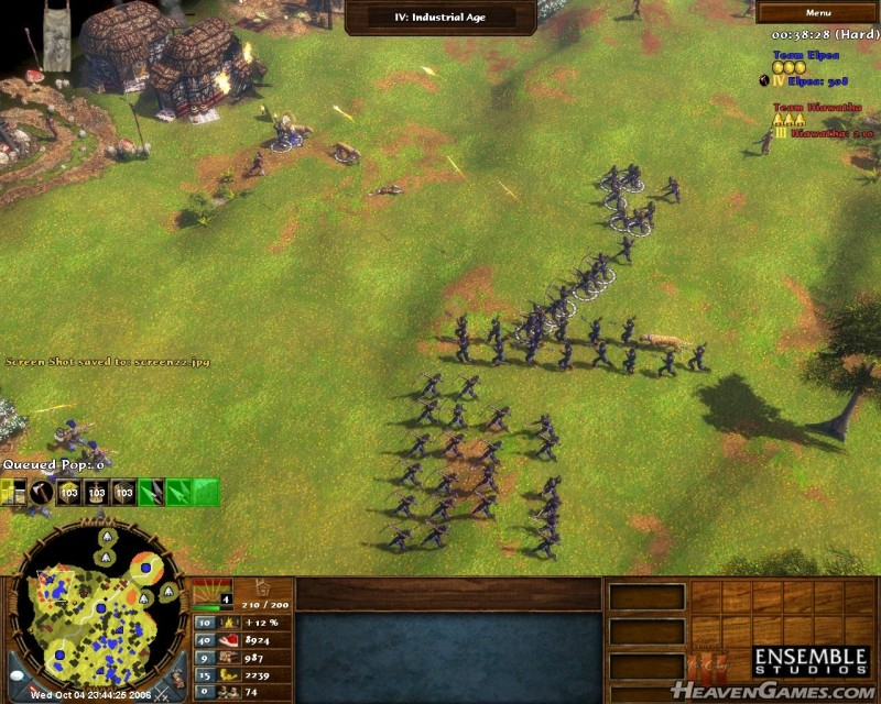 My favorite unit's siege attack