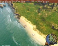 The beautiful California map. Easily one of the best lookings map in AoE3