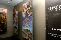 Banners for each of ES's games proudly decorate their lobby.  The Age of Empires III banner will be right where the black ES one is.