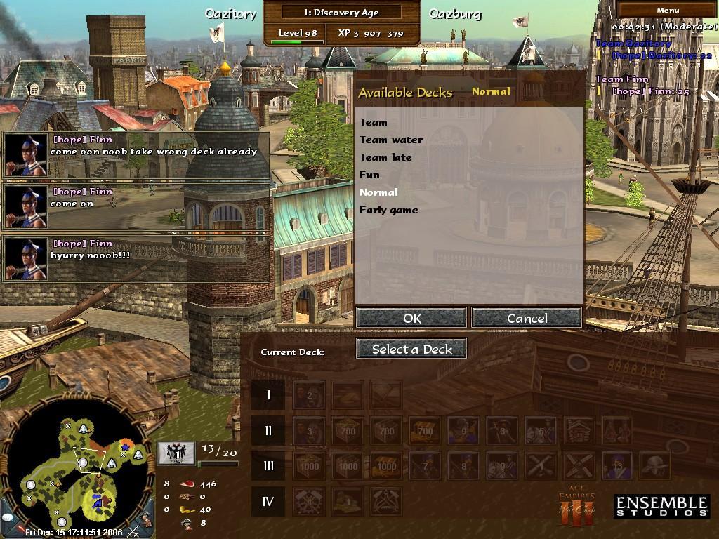Qazitory's UI MOD Deckpick